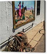 La Mesilla Outdoor Mural Canvas Print