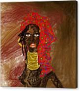La Mujer De Africa  Canvas Print