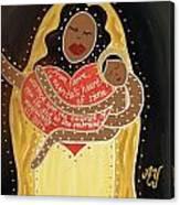 La Negrita Canvas Print