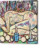 La Ofrenda A Yemanja - Version 02 Canvas Print