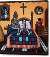 La Partera Or The Midwife Canvas Print