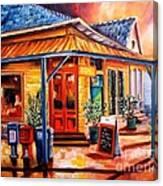 La Peniche In New Orleans Canvas Print