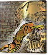La Petite Mort Color Canvas Print