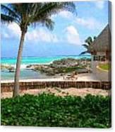 La Playa Canvas Print
