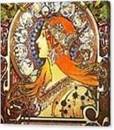 La Plume Zodiac Canvas Print