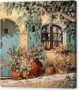 La Porta Azzurra Canvas Print