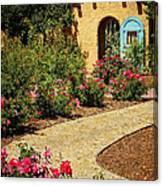 La Posada Gardens In Winslow Arizona Canvas Print