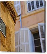 La Provence Windows Canvas Print