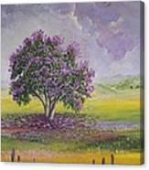 La Reina De Las Flores Canvas Print