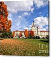 La Roche College On A Fall Day Canvas Print