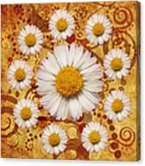 La Ronde Des Marguerites 0101a Canvas Print