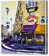 La Rotonde Des Tuileries Canvas Print