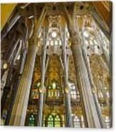 La Sagrada Familia Iv Canvas Print