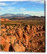 La Sal Landscape Work C Canvas Print