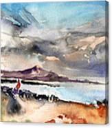 La Santa In Lanzarote 02 Canvas Print