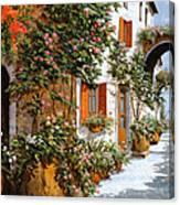 La Strada Al Sole Canvas Print
