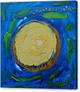 La Tarte Au Citron. Canvas Print