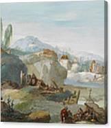 La Tebaide Canvas Print