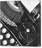 La Tecnica - The Typewriter Of Julio Canvas Print