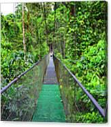 La Tirimbina Suspension Bridge Canvas Print