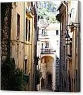 La Turbie French Village 5 Canvas Print