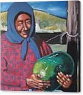 La Vendeuse De Melon Canvas Print