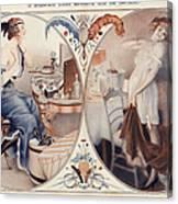 La Vie Parisienne 1922 1920s France Leo Canvas Print