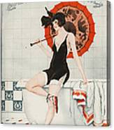 La Vie Parisienne  1923 1920s France Canvas Print