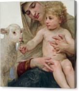 La Vierge A Lagneau Canvas Print