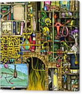 Laboratory Canvas Print