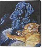 Labrador Love Canvas Print