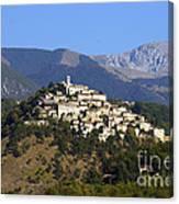 Labro, Lazio, Italy Canvas Print