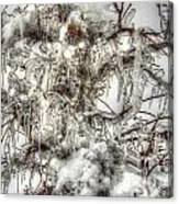 Labyrinth Of Ice Canvas Print