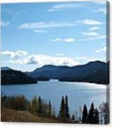 Lac Des Roches Canvas Print