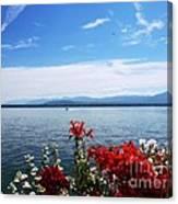 Lac Leman - Switzerland Canvas Print