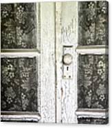 Lace Curtains Canvas Print