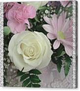 Lace Framed Mothers Day Canvas Print