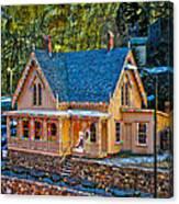 Lace House Blackhawk  Colorado Canvas Print