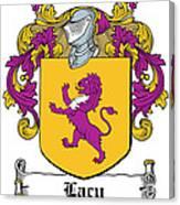 Lacy Coat Of Arms Irish Canvas Print