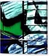 Ladder Effect Canvas Print