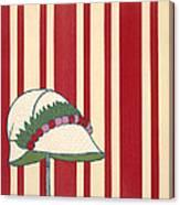 Ladies Hat, From Les Robes De Paul Canvas Print
