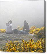 Dublin In The Mist Canvas Print