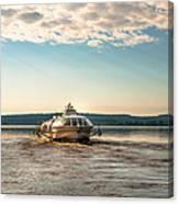 Ladoga Lake Transfer Canvas Print