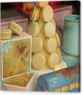 Laduree Macarons Canvas Print