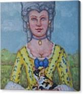 Lady Abigail Canvas Print