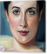 Lady Agnew Study Canvas Print