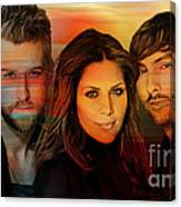 Lady Antebellum Canvas Print