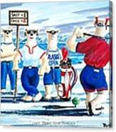 Lady Bears Professional Golf Association Canvas Print