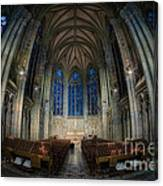 Lady Chapel At St Patrick's Catheral Canvas Print