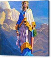 Lady Freedom Canvas Print